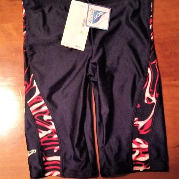 Speedo Other - New With Tags Speedo Racing Jammer's Mens Size 30
